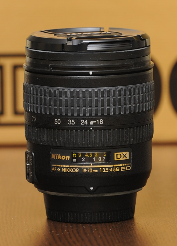 Nikon 18-70mm f/3.5-4.5G IF-ED